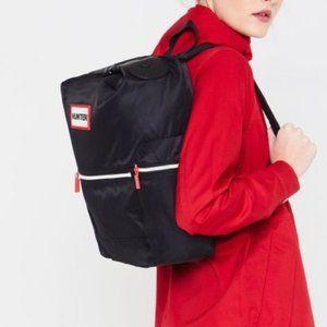 Hunter - Original Top Clip Backpack - Nylon: Black